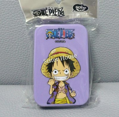 One Piece Monkey Duffy Lens Case 海賊王隱形眼鏡盒