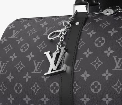 LV INITIALES 鑰匙扣真品 鑰匙圈 supreme 斜背包旅行袋行李袋 M65071