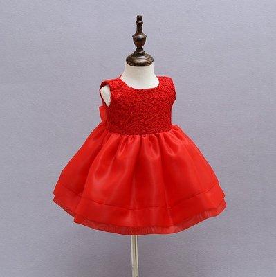 妙妙屋~周歲寶寶禮服  嬰兒滿月禮服 小公主周歲派對禮服    送同款帽子  現貨