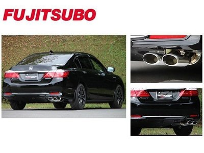 日本 Fujitsubo Authorize E 藤壺 排氣管 中 尾段 Accord CR 2014+ 專用
