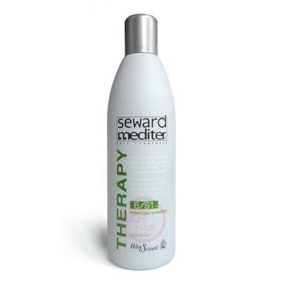 便宜生活館【洗髮精】Helen Seward婕妮雅 淨化洗髮精6/S1-1000ml (免運)油性頭皮屑專用 (可超取)