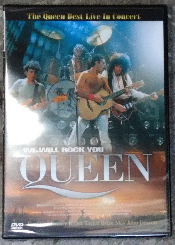 正版全新DVD~DTS皇后合唱團Queen : WE WILL ROCK YOU(1981蒙特婁演唱會) THX音效認