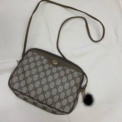 Gucci 滿版 vintage 小包 側背包 美品 瑞奇二手精品