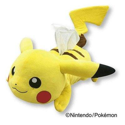 尼德斯Nydus 日本正版 精靈寶可夢 神奇寶貝 Pokemon 皮卡丘 衛生紙套 衛生紙盒套 -預購