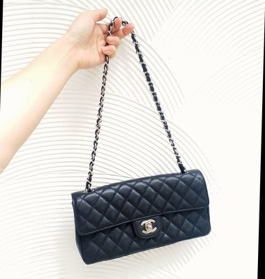 Chanel coco肩背手提荔枝皮25cm經典款單蓋美包 台北市