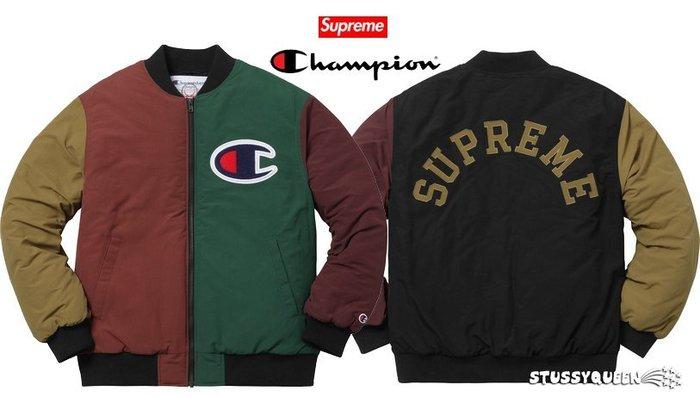 【超搶手】全新正品2017 Supreme Champion Color Blocked Jacket S M L XL