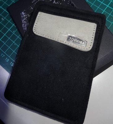 ...點子電腦-北投...全新◎ TOSHIBA 2.5吋 外接硬碟防震包◎黑色款 有線材收納處,60元 台北市