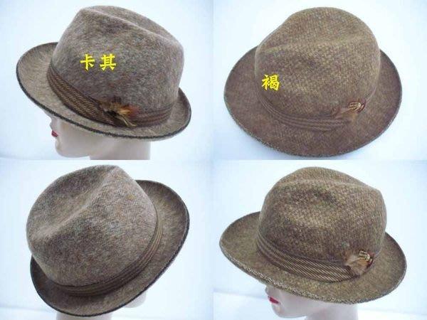 //阿寄帽舖//羊毛 定型紳士帽!!全部紙箱包裝!