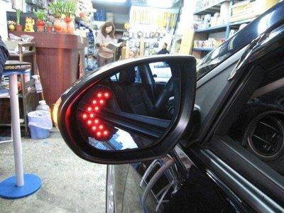 (柚子車舖) SUBARU WRX IMPREZA LEVORG LED方向燈電熱除霧鏡片(專用卡榫式) b