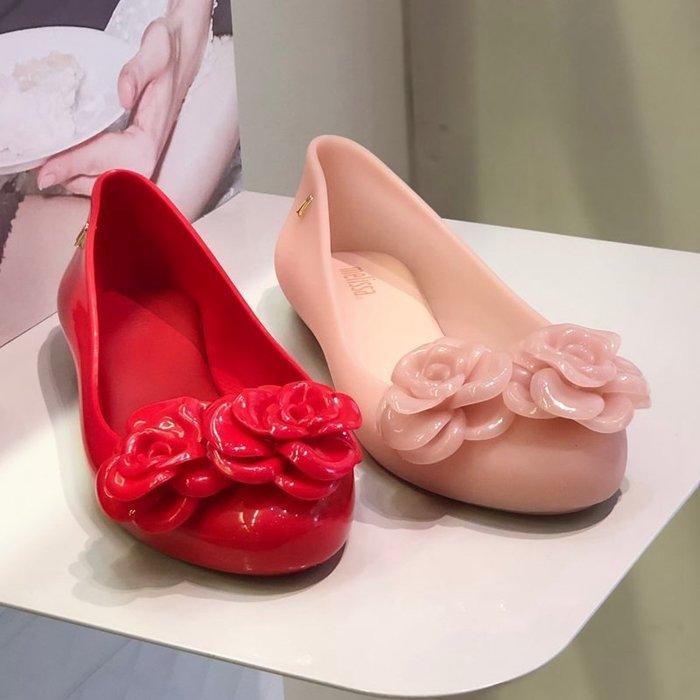 ╭☆包媽子店☆巴西正品 Melissa 女款大花款內增高果凍鞋(2019款)