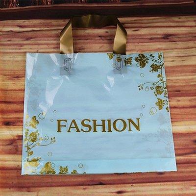 hello小店-新款加厚手提拎童鞋衣服裝店化妝禮品購物塑料膠袋子批發定做#購物袋#手提袋#袋子#