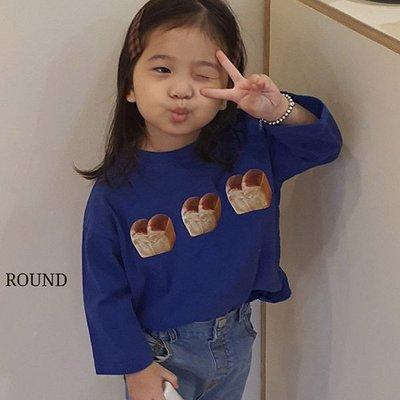 3~13 ♥上衣(鈷藍色) MERRY GO ROUND-2 21秋季 MGR210823-065『韓爸有衣韓國童裝』~預購