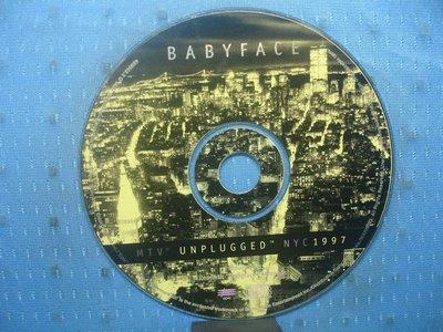 [無殼光碟]HQ  Babyface  MTV Unplugged NYC 1997