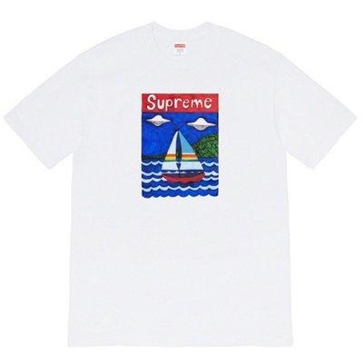 全新商品 Supreme 20SS Sailboat 帆船 短袖 Tee