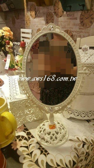 宮廷風雙面鏡-銀粉 鏡子