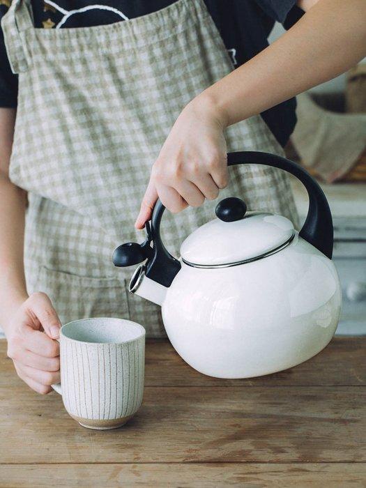 預售款-LKXD-日式搪瓷水壺加厚鳴笛球叫壺家用電磁爐燒水壺煤氣茶壺