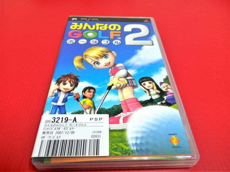 ㊣大和魂電玩㊣ PSP 全民高爾夫 攜帶版 2{日版}編號:N3-2--掌上型懷舊遊戲