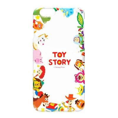 尼德斯Nydus~* 日本正版迪士尼 透明系列 玩具總動員 巴斯光年 胡迪 硬殼 手機殼 4.7吋 iPhone6 6S