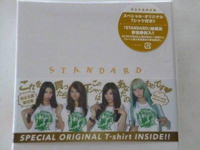 SCANDAL STANDARD (日版完全生産限定盤CD+T Shirt)  2013 全新專輯