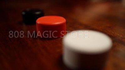 [808 MAGIC]魔術道具 吸管穿瓶蓋sky cap 2.0(紅)
