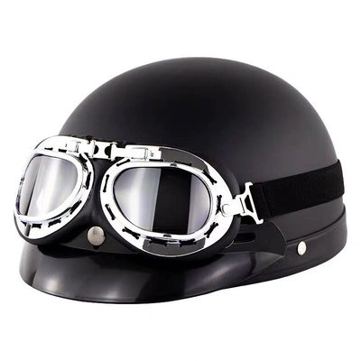 騎行服想見你同款頭盔許光漢李子維同款頭盔黑色摩托電動電瓶安全帽男公主殿下