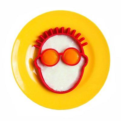 智慧太太日本家居館 Monkey Business 創意小丑臉型煎蛋模具 煎蛋器 百變造型