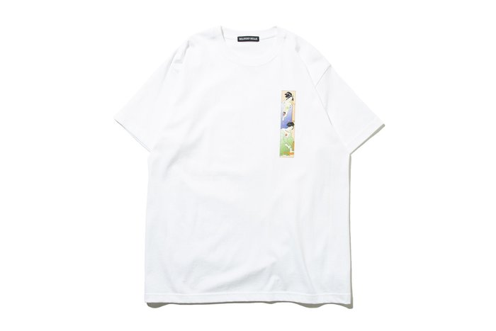 "[ LAB Taipei ] F-LAGSTUF-F ""TWIN TEE"" (White)"