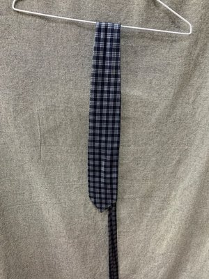 Gives&hawkes 經典 藍格紋 領帶