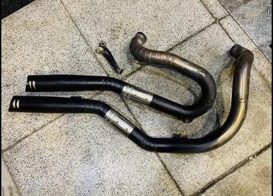 Harley 哈雷 sportster 用手工上繞式排氣管