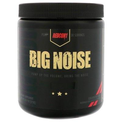 北美旗艦代購~美國直郵  Redcon1, Big Noise, 無刺激鍛煉前泵 315克