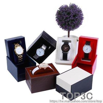 YEAHSHOP 夢冉單只支手錶包裝盒便捷隨身包硬錶盒柜臺展示盒禮品包裝收納盒466132Y185