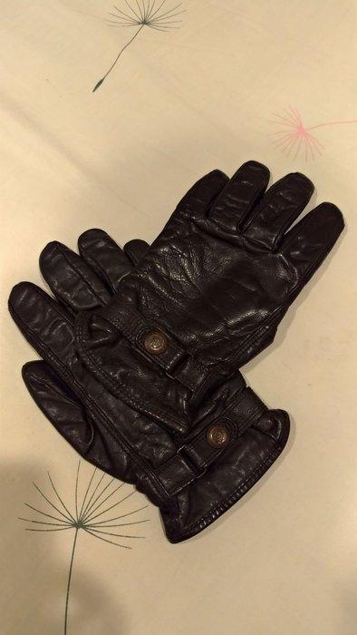 marlboro classics 皮手套 義大利製