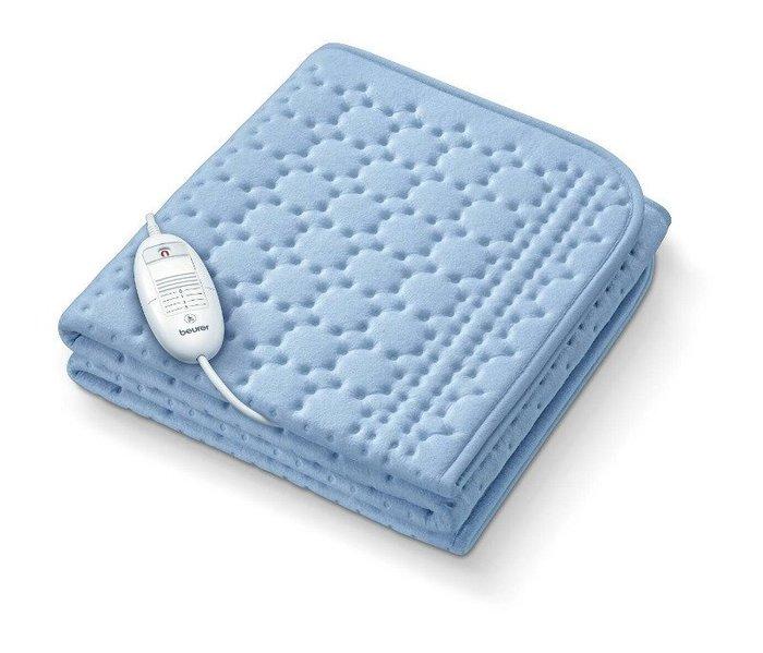 【益康便利GO】德國博依beurer冬季電熱毯-單人床墊組TP80(定時型)電毯(免運)送凡士林