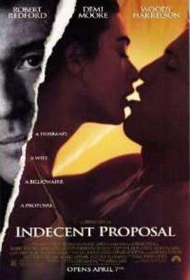 桃色交易-Indecent Proposal (1993)原版電影海報