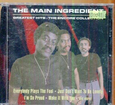 *還有唱片四館* THE MAN INGREDIENT 二手 D1091