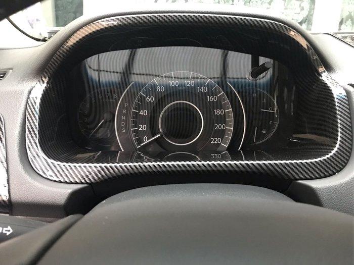 【安喬汽車精品】本田 HONDA  CRV4 CRV4.5 儀表板 水轉 卡夢貼片 中控儀表板貼片