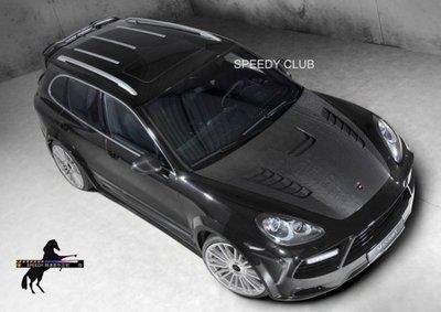 SPEEDY 競速 Mansory Porsche Cayenne Broad Version預購中