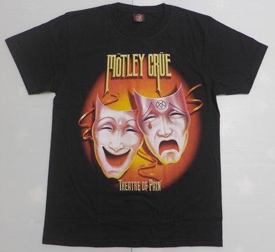 【Mr.17】Motley Crue 克魯小丑合唱團 Metal 重金屬 搖滾 樂團T恤短袖 (H781)
