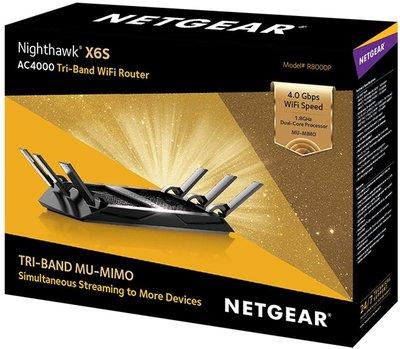 【SE美國代購】Netgear夜鷹 X6S Nighthawk R8000P AC4000 智能MU-MIMO無線寬頻