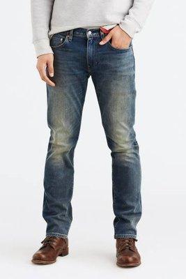 Look 鹿客 Levis 511 新品 復古刷色 男款窄管牛仔褲 045112924