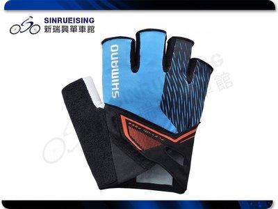【阿伯的店】Shimano Asphalt 手套 M/L/XL -藍色#SU2213
