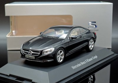 【M.A.S.H】[現貨特價] 原廠 Norev 1/43 Mercedes S-Class C217 Coupe 黑