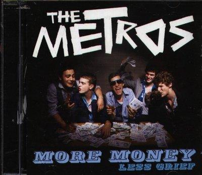 八八 - The Metros - more money less grief - 日版 CD+1BONUS+VIDEO