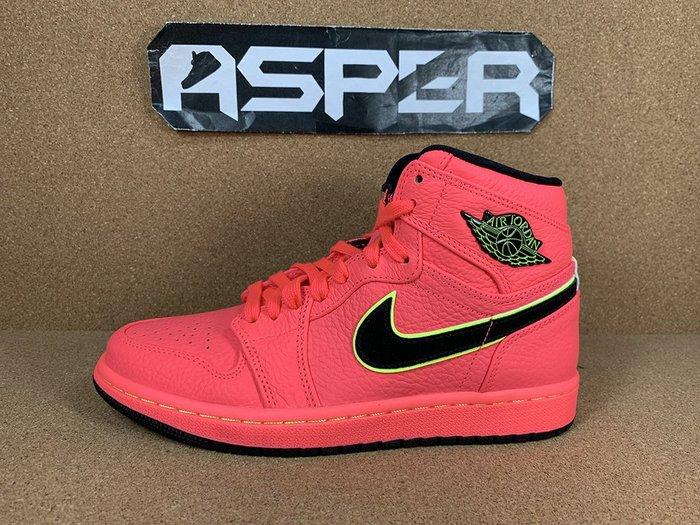 【Asper】Air Jordan 1 Retro Premium 桃紅 女鞋 AQ9131-600