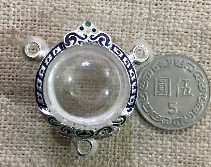 如是H3三環鍍銀琺瑯盒/殼