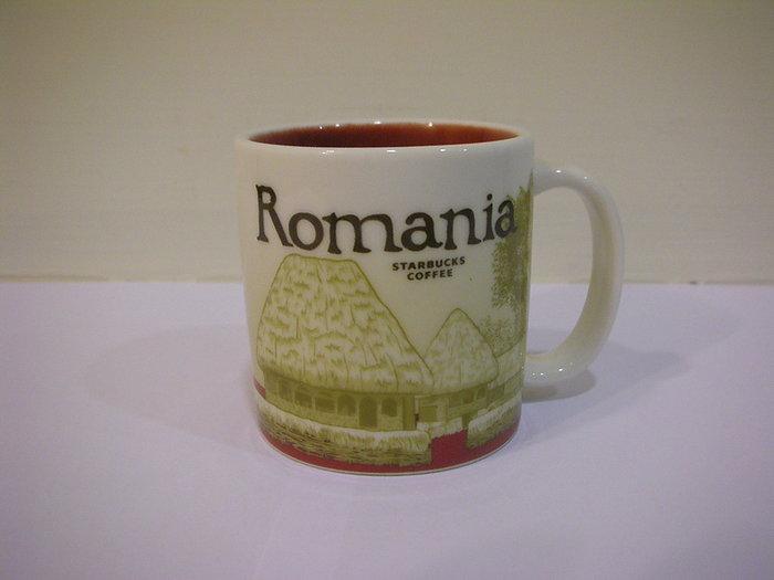 全新絕版羅馬尼亞 Romania 星巴克 Starbucks 國家杯城市杯 3oz / 89 ml濃縮小杯單杯*無外盒