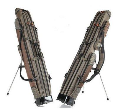 漁具包 1.25米1.3 1.4 1.5 1.6米魚具包釣魚包二層三層兩層魚竿包XBD