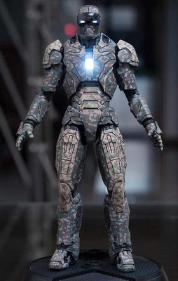 全新 Comicave Studios 1/12 鋼鐵人 MK23 暗影 日本限定 75%合金