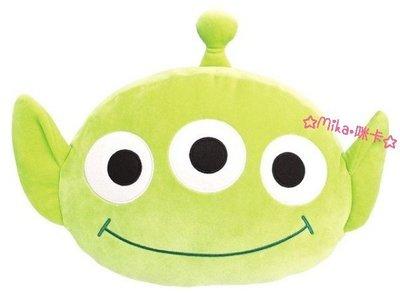 ☆Mika☆ 日本正版 迪士尼 玩具總動員 三眼怪 抱枕 靠枕 靠墊 890含運-