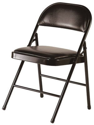 【15-14】折合椅(黑皮)